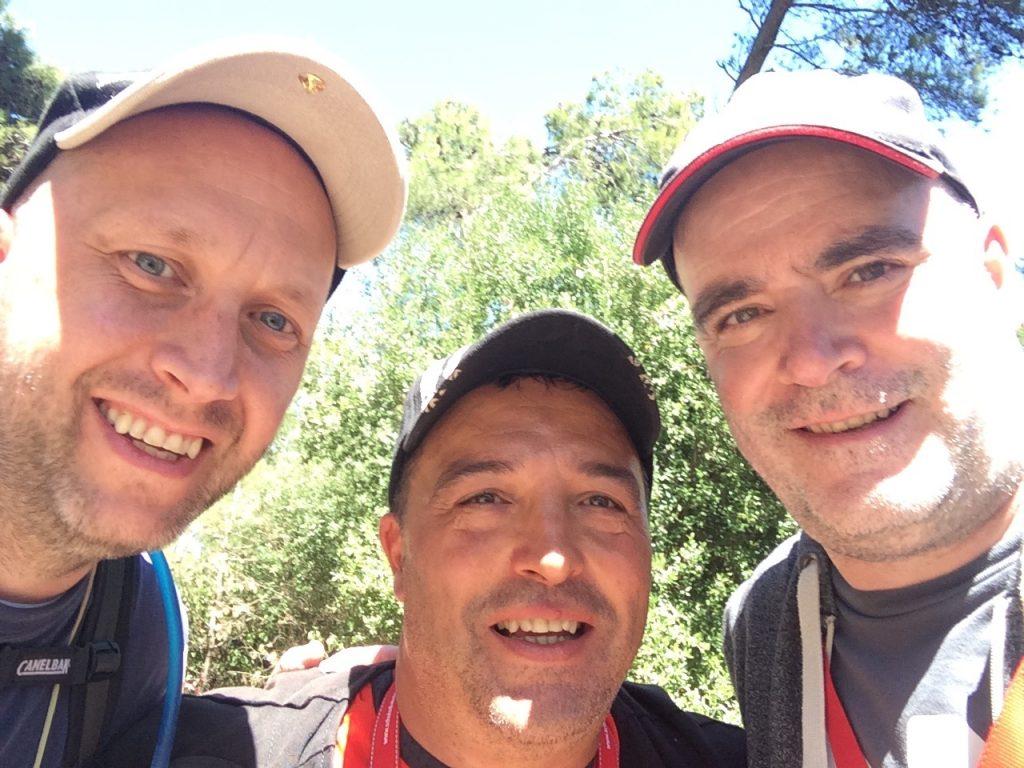 John, Jose and I