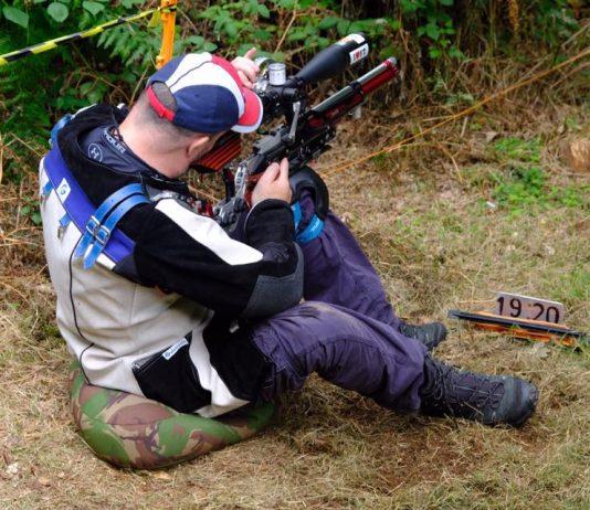Martin in 404 field target shooting jacket.