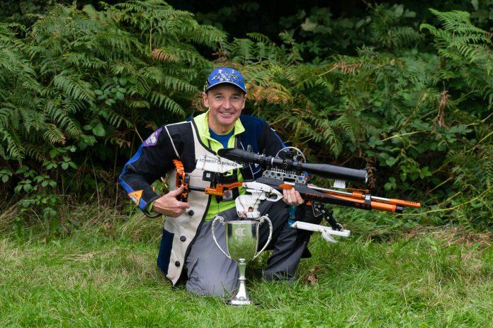 Neil Hague, BFTA Masters Winner.