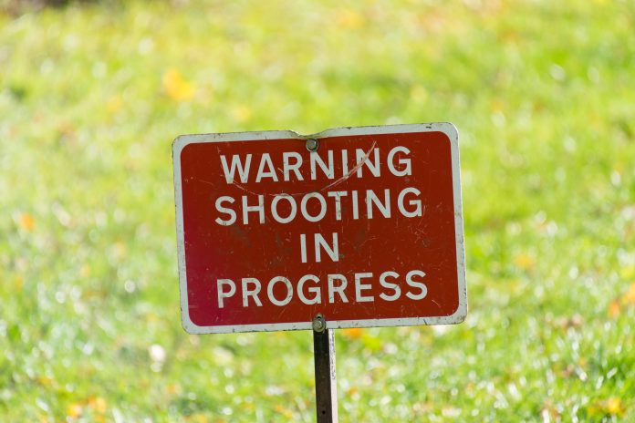 Field Target: Warning Shooting In Progress